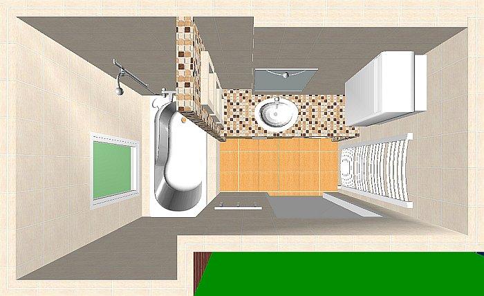 Fürdőszoba felújítás átalakítással (BA 1.rész)  Home & Decor – lakberendezés