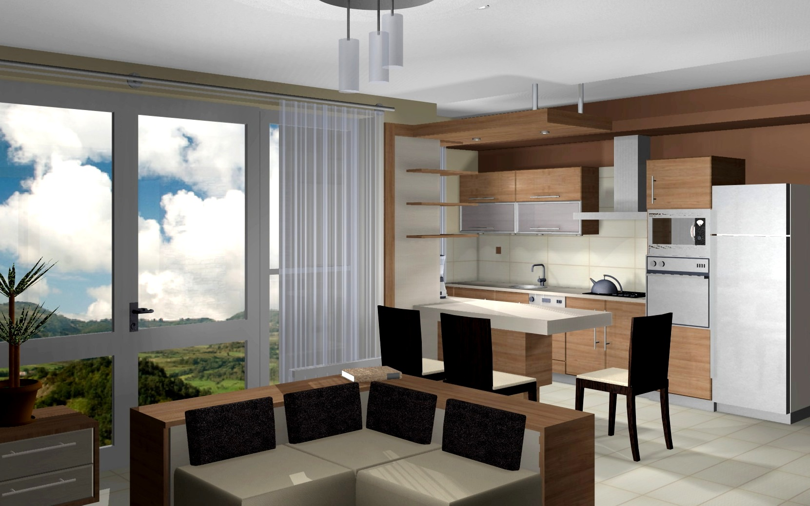 Lakóparki lakás tervezése