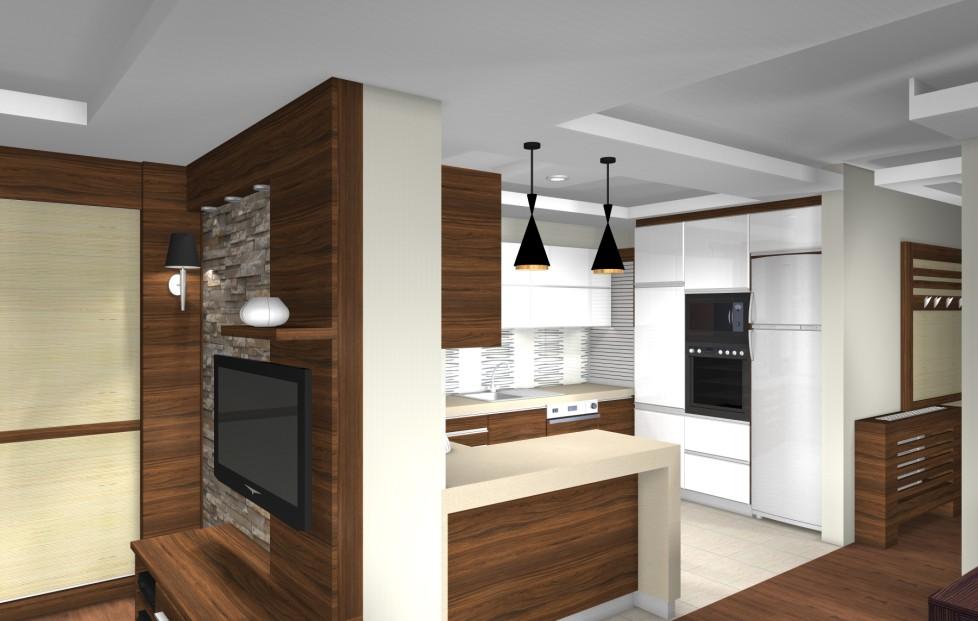 Modern egyterű nappali egy hagyományos családi házban  Home & Decor – lakberendezés