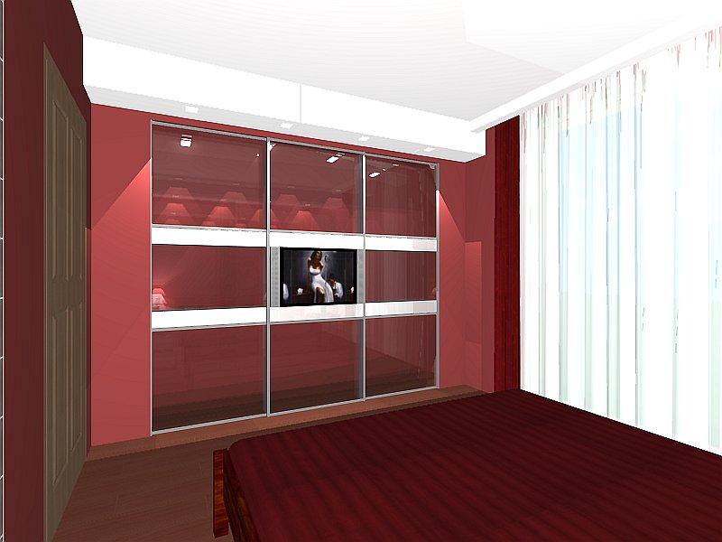 Modern stílusú hálószoba és gardrób lakberendezési variációk ...