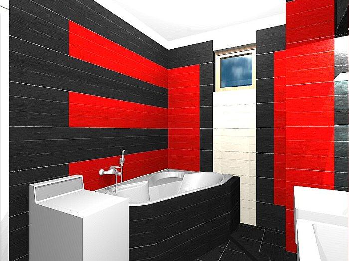 Fürdőszoba extravagáns csempével II. (BL 6. rész)  Home & Decor – lakberendezés