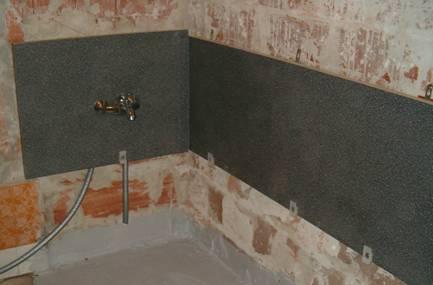 Fürdőszoba felújítás másképp - az első felrögzített munkalap