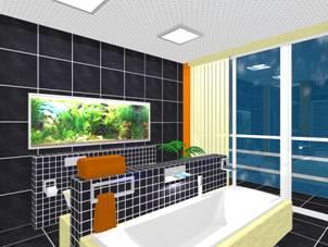 HansaCanyon csaptelep-családhoz modern fürdőszoba lakberendezés