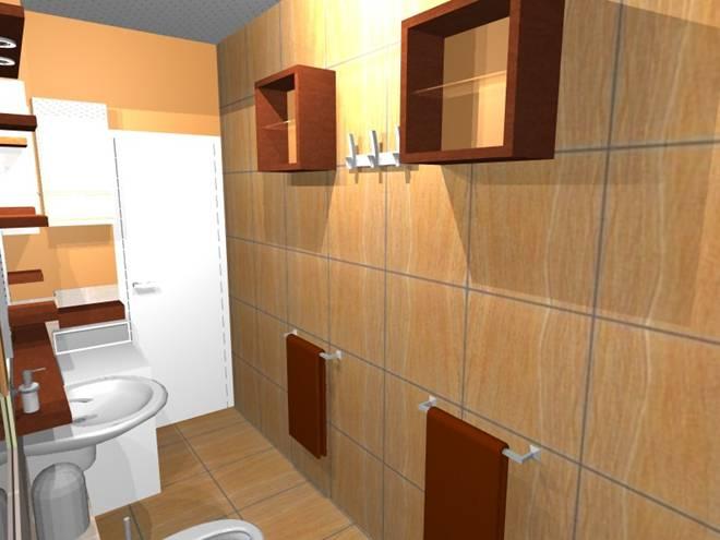 Egy keskeny lakótelepi fürdőszoba felújításának lakberendezési ötletei (LI-2.rész)  Home ...