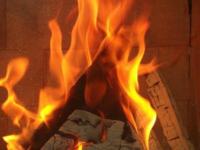 samottbetétes tűztér
