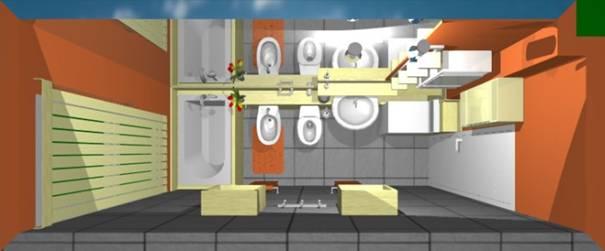 Egy keskeny lakótelepi fürdőszoba felújításának lakberendezési ötletei (LI-1.rész)  Home ...